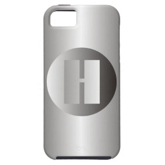 "Polierstahl ""H "" iPhone 5 Cover"