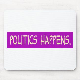 Politik geschieht mousepad