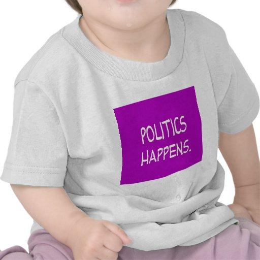Politik geschieht t-shirt