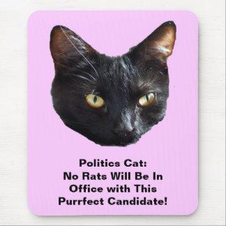 Politik-Katze keine Ratten ist in der Mauspads
