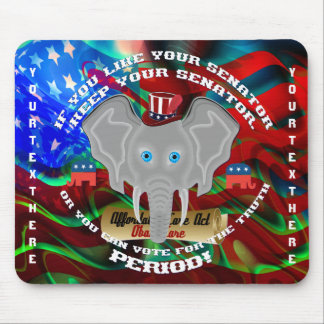 Politik-Republikaner-Erinnerungsstücke Mousepads