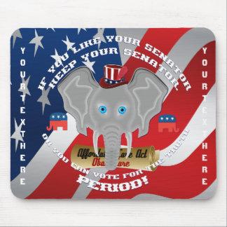 Politik-Republikaner-Erinnerungsstücke Mousepad