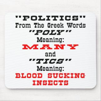 Politik; Vom Griechen fasst viele Blut-Sauger ab Mauspads