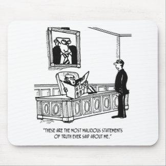 Politiker-Cartoon 3312 Mauspad