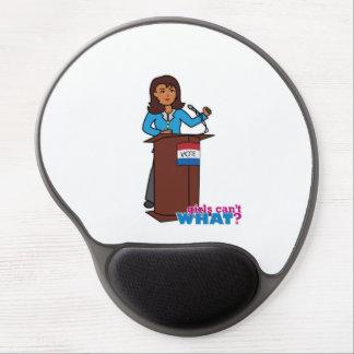 Politiker-Mädchen Gel Mousepad