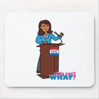Politiker-Mädchen Mauspads