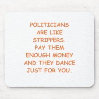 Politiker Mousepads
