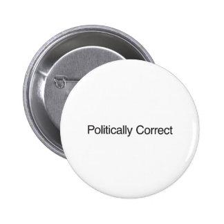 Politisch korrekt anstecknadelbuttons