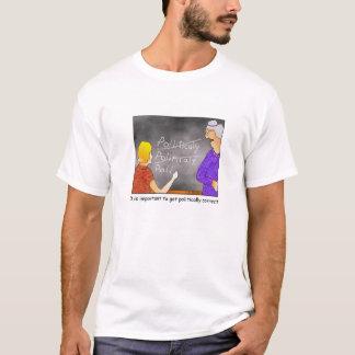 Politisch korrekter Cartoon-T - Shirt