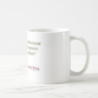 Politisch korrekter Feiertag Tasse