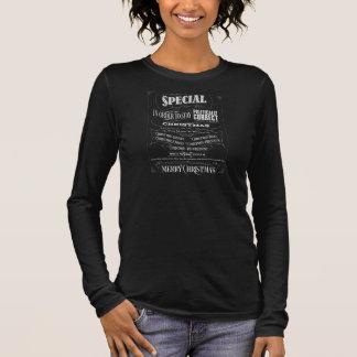 Politisch korrektes falsches Tafel-Weihnachten Langarm T-Shirt