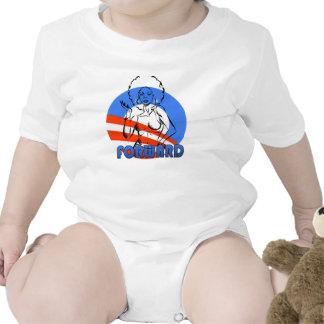 Politisch Baby Strampelanzug