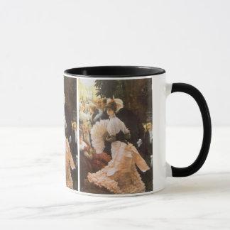 Politische Dame durch James Tissot, Vintages Tasse
