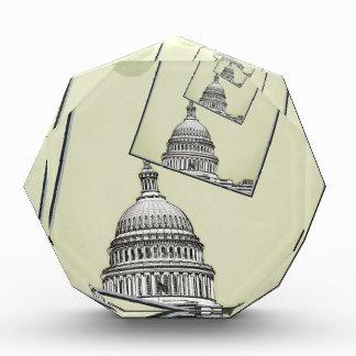 Politische Drehbeschleunigung Acryl Auszeichnung