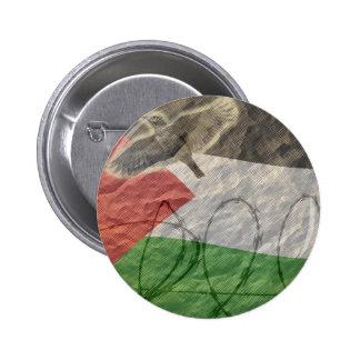 politische Einzelteile, baskisch/palesinian Runder Button 5,1 Cm