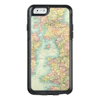 Politische Karte der britischen Inseln OtterBox iPhone 6/6s Hülle