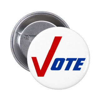 Politische Knöpfe Button-zurück Kampagne regen Abs