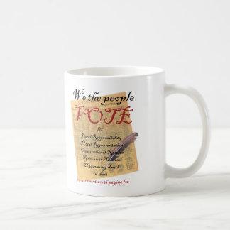 Politische Tassen: Eisen-Stift Tasse