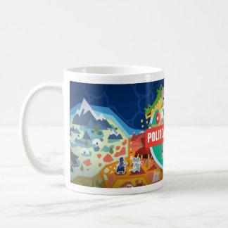 Politische Tier-Weiß-Tasse Kaffeetasse