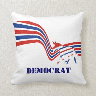 Politische Vereinigte Staaten Demokraten Kissen