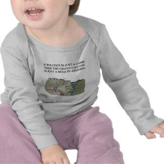 politische Witzgeschenk-T - Shirts