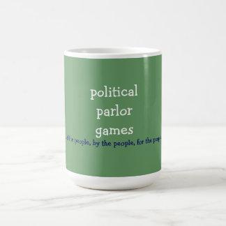 politische Wohnzimmerspiele Tasse