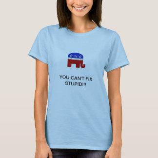Politischer GOP kann dummes nicht regeln T-Shirt