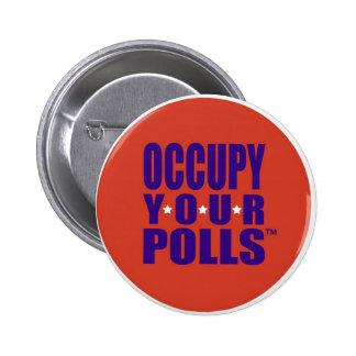 Politischer Knopf Runder Button 5,7 Cm
