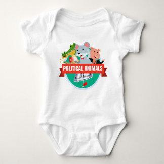 Politischer Tier-Baby-T - Shirt