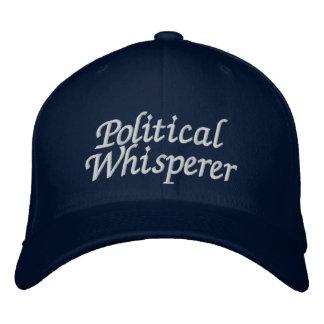 Politischer Whisperer Bestickte Baseballkappe