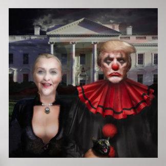 Politisches gotisches poster