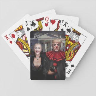 Politisches gotisches spielkarten