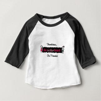 Politisches Resisterhood dennoch bestand sie fort Baby T-shirt