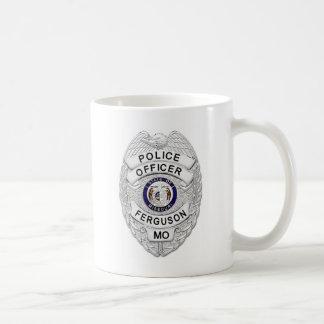 Polizei-Abzeichen Fergusons Missouri Kaffeetasse