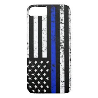Polizei angeredete beunruhigte amerikanische iPhone 8/7 hülle