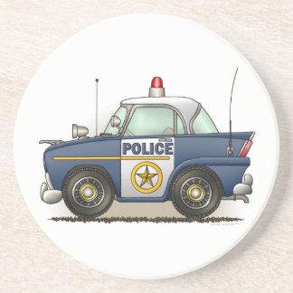 Polizei-Auto-Polizei Crusier Getränkeuntersetzer
