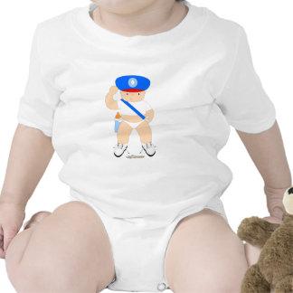 Polizei-Baby Bodys