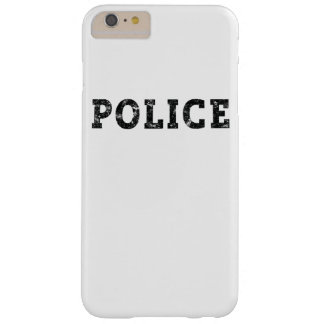 Polizei Barely There iPhone 6 Plus Hülle
