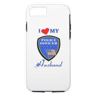 Polizei-Ehemann-Liebe iPhone 8/7 Hülle
