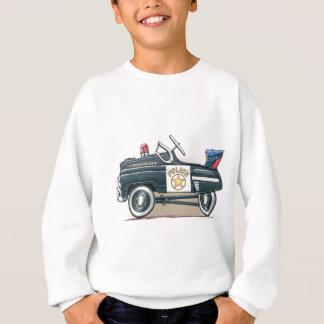 Polizei elt Auto-Polizist-Auto rad Sweatshirt