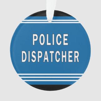 Polizei-Fahrdienstleiter Ornament