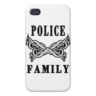 Polizei-Familien-Tätowierungen Schutzhülle Fürs iPhone 4