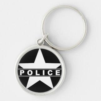 Polizei hat schlüsselanhänger