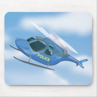 Polizei-Hubschrauber Mousepad