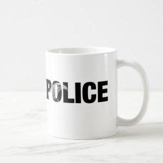 Polizei Kaffeetasse