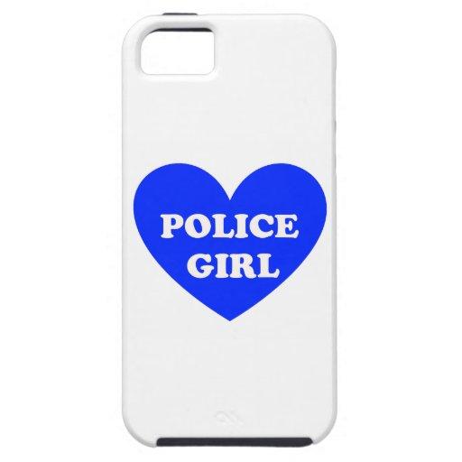 Polizei-Mädchen Hülle Fürs iPhone 5