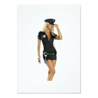 Polizei-Mädchen Karte