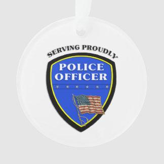 Polizei Ornament