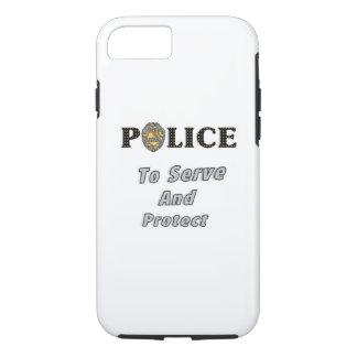 Polizei schützt sich und dient iPhone 8/7 hülle