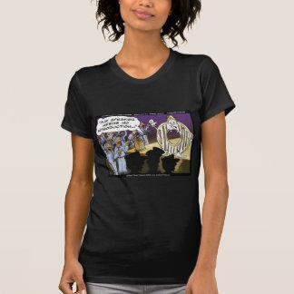 Polizei-u. Schaumgummiring-lustige T Shirt